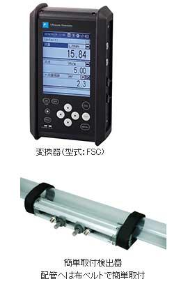 ポータブル形超音波流量計 <Portaflow-C>